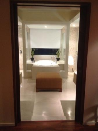 Alila Jakarta: Center piece of the room. The bath tub!