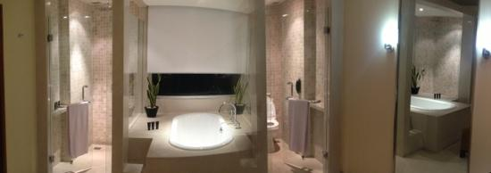 Alila Jakarta: The expansive bathroom. nice