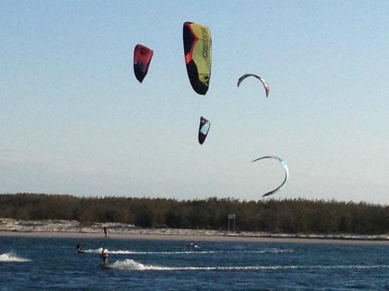 Aspect Caloundra: Wind Surfers on Bulcock Beach