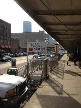 Pittsburgh Public Market in the Strip