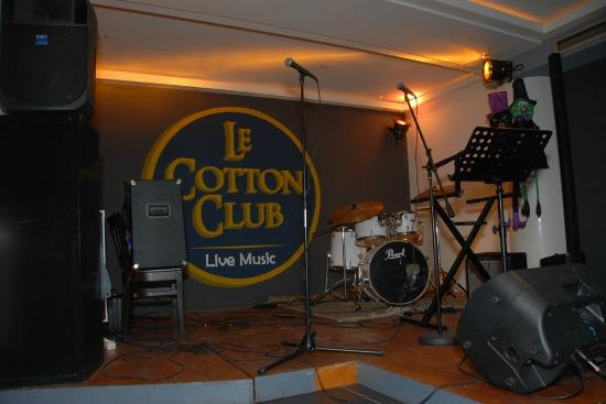 Le Cotton Club : la scène