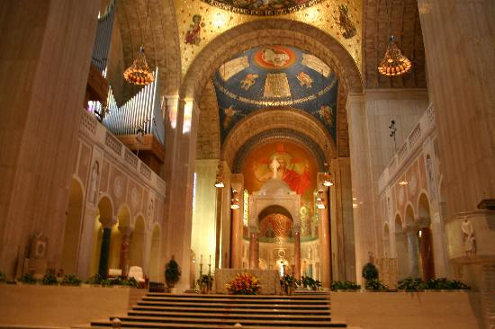 Basilica of the National Shrine of the Immaculate Conception: Inside