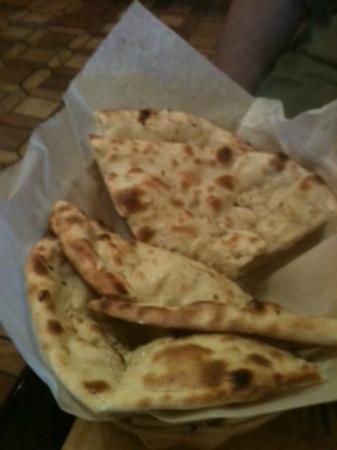 Yak The Kathmandu Kitchen: Garlic Naan