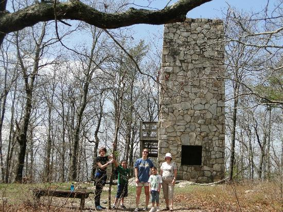 Fort Mountain State Park: tower