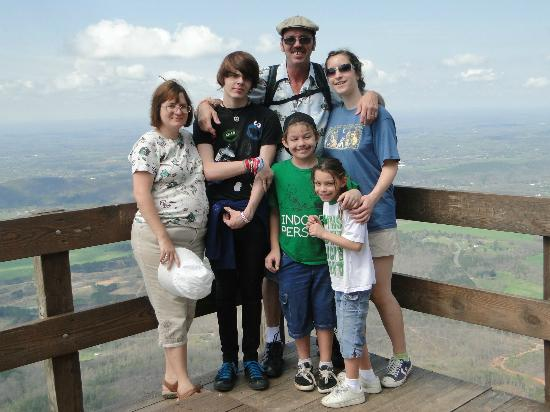 Fort Mountain State Park: family photo