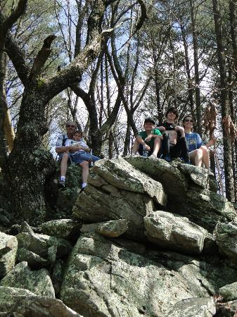 Fort Mountain State Park: rocky top