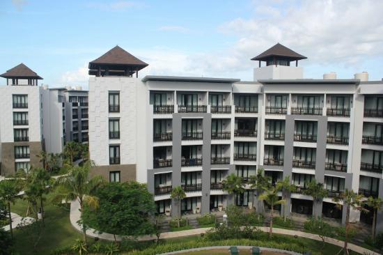โรงแรมพูลแมน บาหลี ลีเกี้ยน เนอร์วานา: pemandangan dari kamar saya