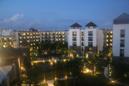 Pullman Bali Legian Nirwana: Night view from my room