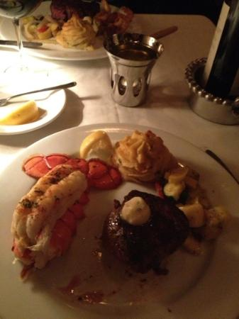 Sybill's: filet and lobster tail