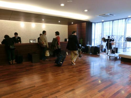 Hotel MyStays Kyoto Shijo: フロント