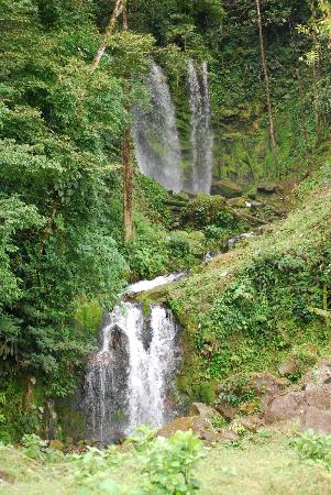 Blue River Resort & Hot Springs : Nearby waterfall