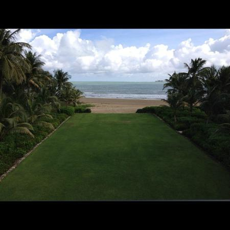 The St. Regis Bahia Beach Resort: View off of the balcony at Fern's