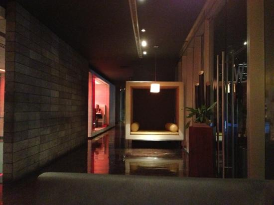 W Mexico City: insert club / lounge music and stylish beautiful people and you get the idea.