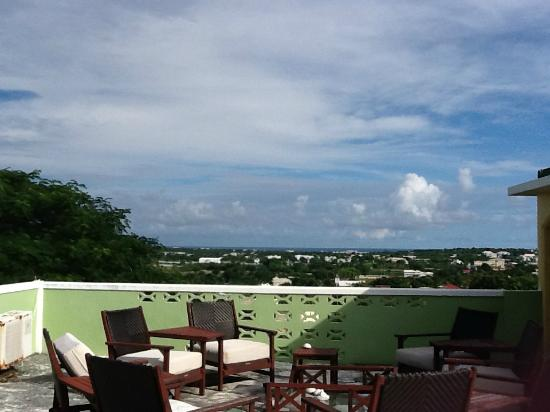 Lloyd's Bed & Breakfast: View from the rooftop patio that is accessible to all guests