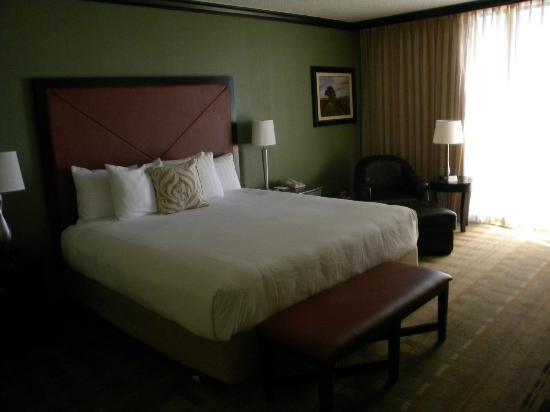 Hyatt Regency Tulsa: Standard room 14th floor King bed