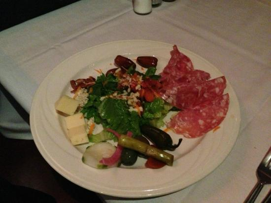 Baci Restaurant & Bar: Dinner salad that came with the meal