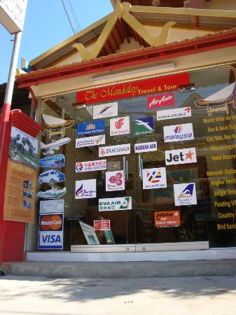 Mingalar Inn: Tour & Ticketing Office