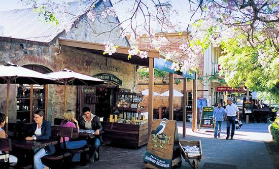 The picturesque and historic village of Hahndorf in the Adelaide