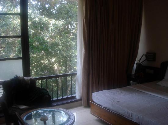 Aranya Nivas KTDC: Room with large grill less windows