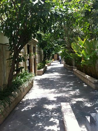 BEST WESTERN Kuta Villa: walkway to villa