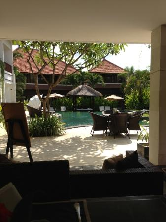 Villa Diana Bali: View From my balcony