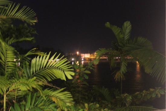 Hotel Marina Bentota: Night view from Balcony