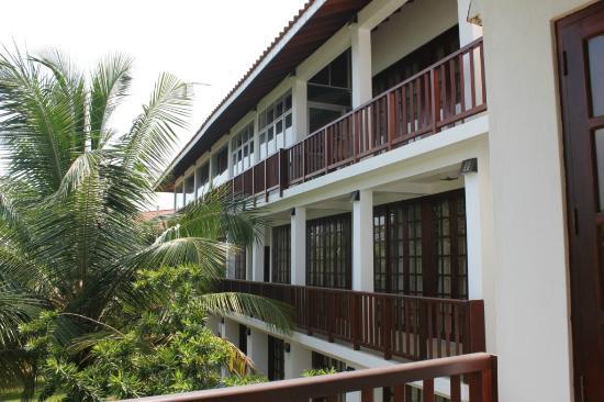 Hotel Marina Bentota : View of the rooms