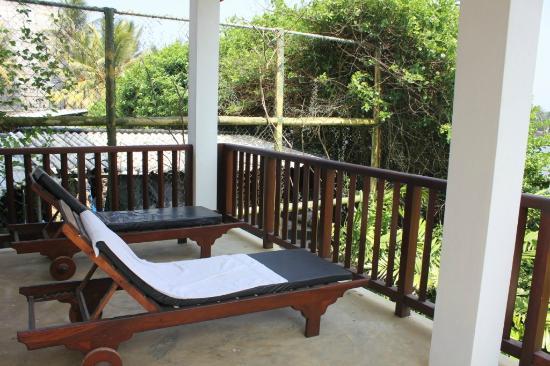 Hotel Marina Bentota: Balcony relaxing area
