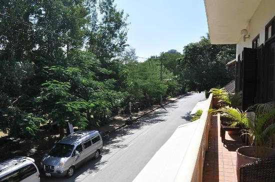 The Apsara: View from balcony/room