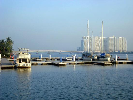 Bolgatty Palace & Island Resort: Bolgatty's private port
