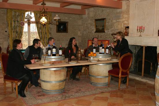 Chateau Marquis de Vauban: La dégustation de 3 vins est incluse dans notre visite
