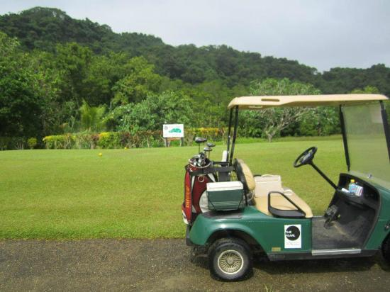 The Pearl Resort : Golf beside the jungle!
