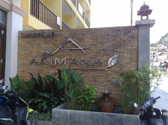 Arimana Hotel : front