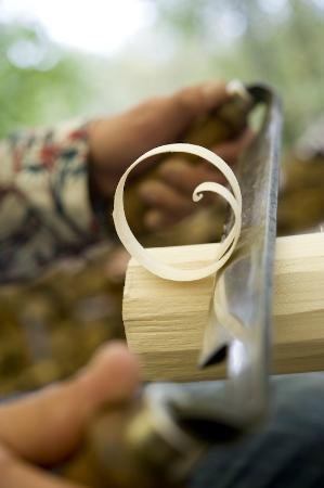 Green Woodworking Courses - Guy Mallinson's Woodland Workshop