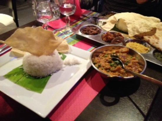 Krishna Bhavan: Curry