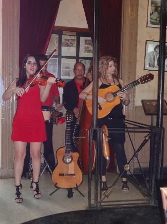 Restaurante Floridita : nice musicians