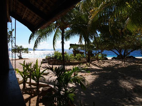 Club Paradise Palawan: View from restaurant
