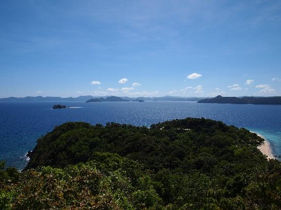 Club Paradise Palawan: View from watchtower