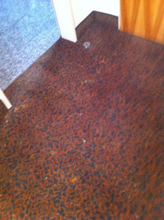 Regent Hotel: Teppichboden