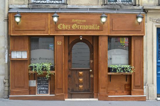 Grenouille Paris Restaurant