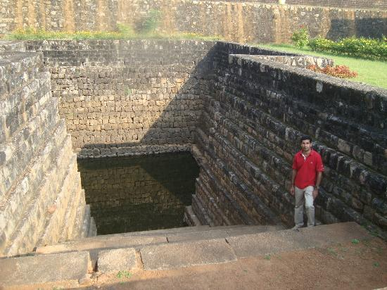 Ancient Pond inside Tipu Sultan Fort