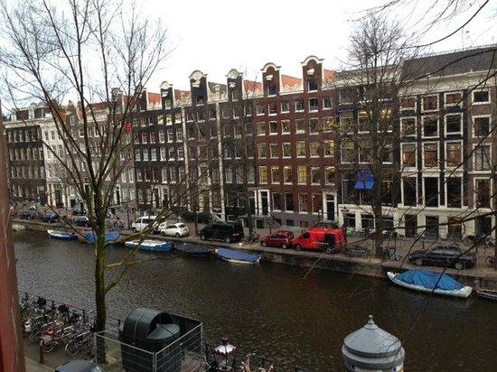Dikker & Thijs Fenice Hotel: uitzicht op de Prinsengracht