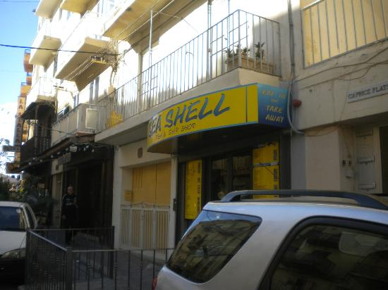 Seashell Fish & Chip Shop: Sea Shell