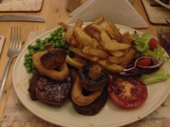 The Gunby Inn: Steak cooked exactly how I asked for it