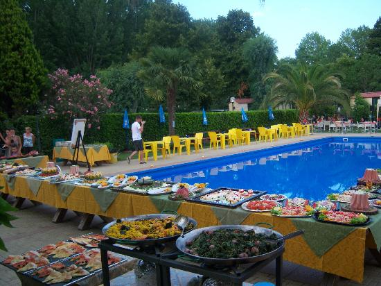 Camping Tiber: Swimming Pool
