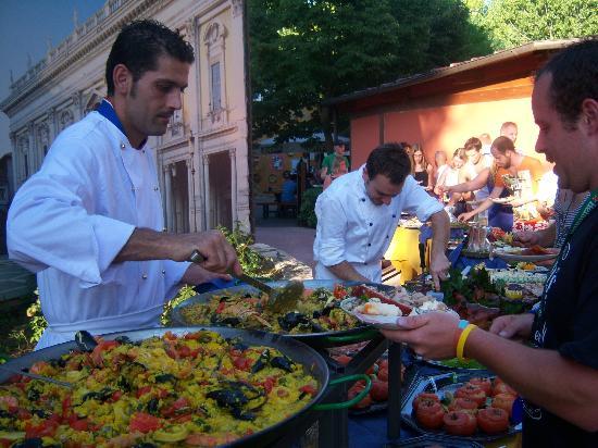 Camping Tiber: Buffet