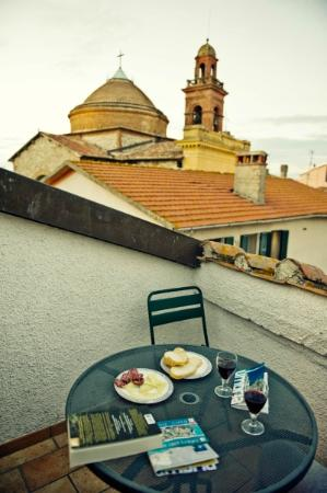 Il Torrione : our balcony