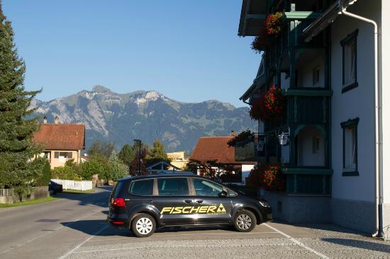 Hotel Buchel: Aussenanlage, Hotel Büchel, Feldkirch