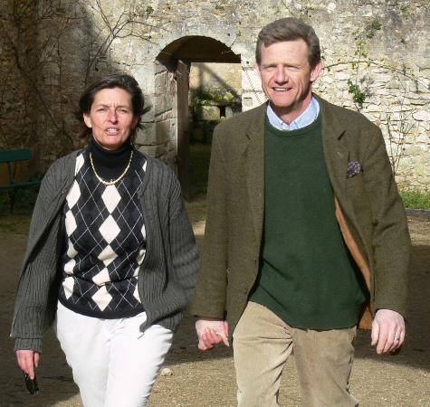 Chateau de Forges: Alexandra et Hugues