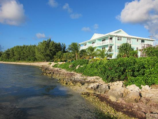 Compass Point Dive Resort: View from the dock